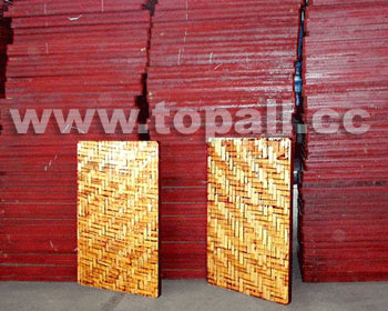 Bamboo Pallet for Block Moulding