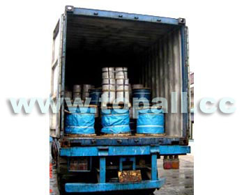 Wire Rope Containerized for Shipment
