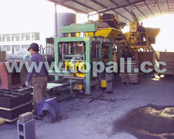 Block Moulding Machine in Vietnam